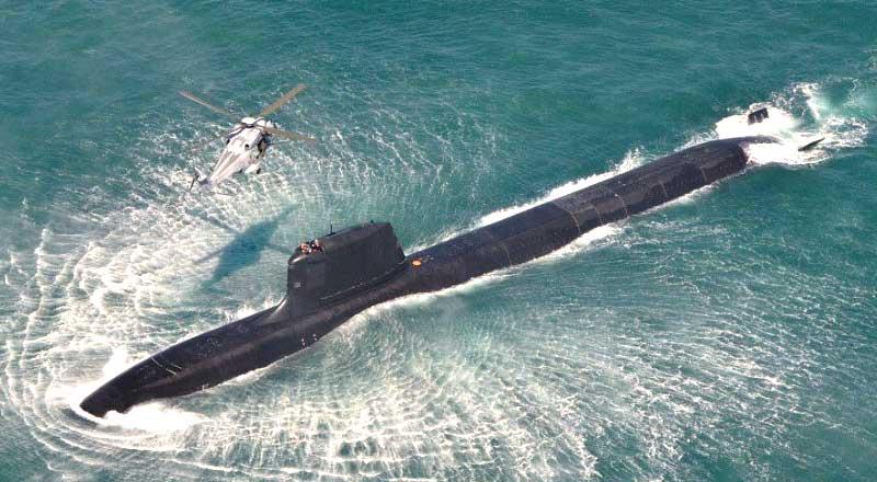 Barracuda class nuclear attack submarine