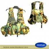 Tactical Jacket Woodland Camo